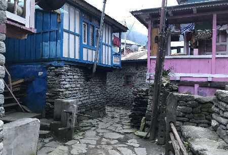 Une ruelle de Tilje