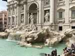 fontaine de tréville Rome