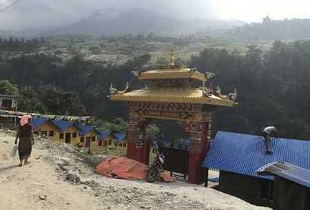 porche Népalais